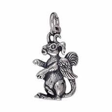 Anhänger Wolpertinger in echt Sterling-Silber 925 oder Gold, Ketten- oder Schlüssel-Anhänger