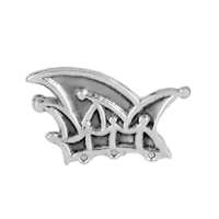 Anhänger Narrenkappe, Faschings-, Karnevals-, Komitee-, Prinzenmütze in echt Sterling-Silber 925, Ketten- oder Schlüssel-Anhänger