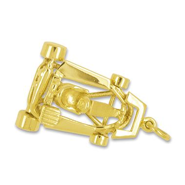Anhänger Kartsport, Karting, Charms in Silber & Gold