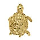 Anhänger Schildkröte in echt Sterling-Silber 925 oder Gold, Charm, Ketten- oder Bettelarmband-Anhänger