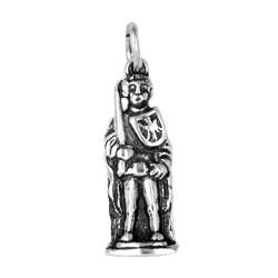 Anhänger Bremen, Roland in echt Sterling-Silber 925 oder Gold, Charm, Ketten- oder Schlüssel-Anhänger