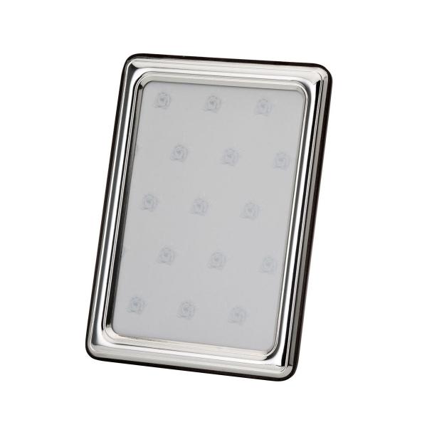 Fotorahmen in echt Sterling-Silber 925, 9 x 13 cm, glatt poliert