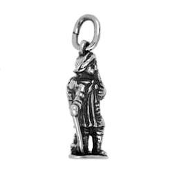 Anhänger Münster, Kiepenkerl in echt Sterling-Silber 925 oder Gold, Charm, Ketten- oder Bettelarmband-Anhänger