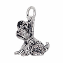 Anhänger diverse Hunde, Charms in Silber & Gold
