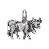 Anhänger Kühe, Kuhglocken, Charms in Silber & Gold