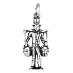 Anhänger Hamburg, Hummel Hummel in echt Sterling-Silber 925 oder Gold, Charm, Ketten- oder Schlüssel-Anhänger