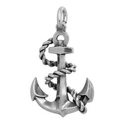 Anhänger Schifffahrt, Charms in Silber & Gold