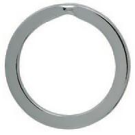 Spaltring, Schlüsselring in echt Sterling-Silber 925/000 für Anhänger