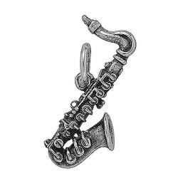 Anhänger Blasinstrumente, Charms in Silber & Gold