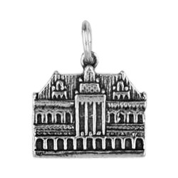 Anhänger Bremen, Rathaus in echt Sterling-Silber 925 oder Gold, Charm, Ketten- oder Bettelarmband-Anhänger