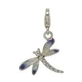 Anhänger Libellen, Charms in Silber & Gold