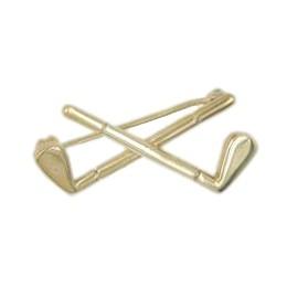 Brosche Golfschläger echt Sterling-Silber 925 oder Gold