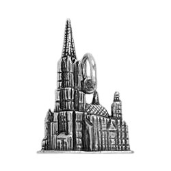 Anhänger Ulmer Münster in echt Sterling-Silber 925 oder Gold, Ketten- oder Schlüssel-Anhänger