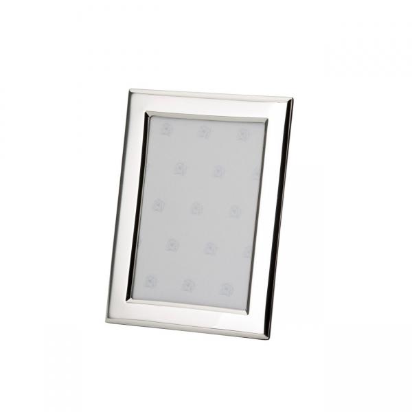 Fotorahmen in echt Sterling-Silber 925, 6 x 9 cm, glatt