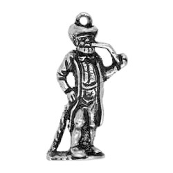 Anhänger Bielefeld, Leineweberdenkmal in echt Sterling-Silber 925 oder Gold, Charm, Ketten- oder Schlüssel-Anhänger
