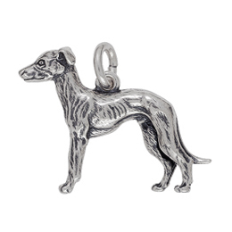 Anhänger Windhunde, Charms in Silber & Gold