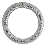 Federring, Schlüsselring gerieft mit Schnappverschluss in Sterling-Silber 925/000 für Anhänger