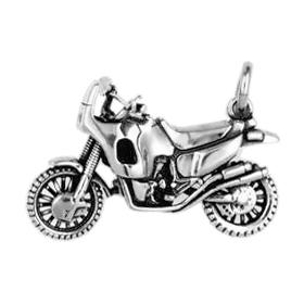 Anhänger Motorradsport, Motorräder, Charms in Silber & Gold