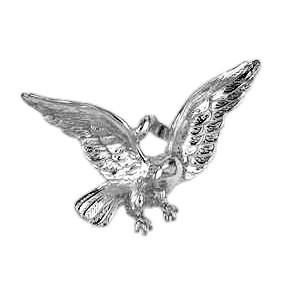 Anhänger Adler in echt Sterling-Silber 925, Ketten- oder Schlüssel-Anhänger