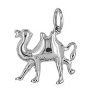 Anhänger Kamel in echt Sterling-Silber 925 oder Gelbgold, Charm, Ketten- oder Bettelarmband-Anhänger