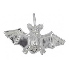 Anhänger Fledermäuse, Charms in Silber & Gold