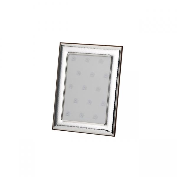 Fotorahmen in echt Sterling-Silber 925, 6 x 9 cm, gehämmert