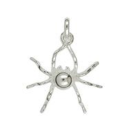 Anhänger, Piercing, Ohrstecker Spinnen, Charms in Silber & Gold