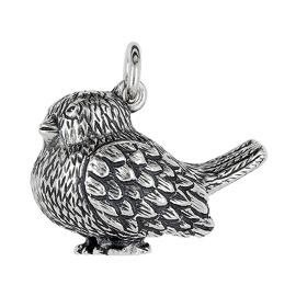 Anhänger Vögel, Charms in Silber & Gold