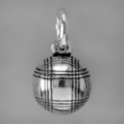 Anhänger Boule, Pétanque, Charms in Silber & Gold